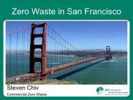Zero Waste in San Francisco