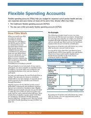 Flexible Spending Accounts - Stryker