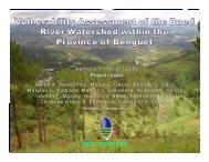 ERDS, DENR-CAR - APAFRI-Asia Pacific Association of Forestry ...