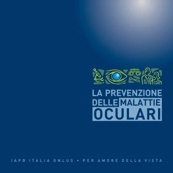 Prevenzione Malattie Oculari.indd - Agenzia internazionale per la ...