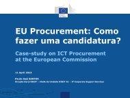 EU Procurement: Como fazer uma candidatura? - Infoeuropa