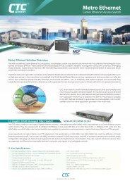 Metro Ethernet - Photonix