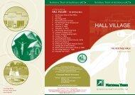 Hall Village - The Heritage Walk - National Trust of Australia