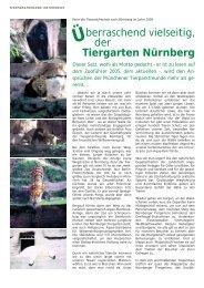 reisebericht - Tierparkfreunde Hellabrunn eV