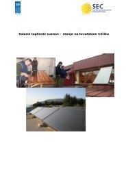 ANKETA - Solarni toplinski sustavi - Stanje na hrvatskom tržištu
