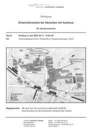 Krisenintervention bei Menschen mit Autismus - autismus deutsche ...
