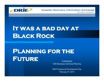 It was a bad day at Black Rock Planning for the Future - gt islig