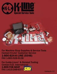Catalog 212 (10-13-11).indd - K-Line Industries, Inc.