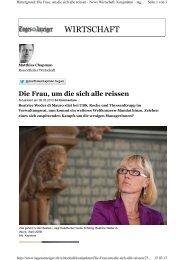 WIRTSCHAFT - Guido Schilling AG