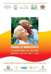 Rapporto PASSI d'Argento - EpiCentro - Istituto Superiore di Sanità