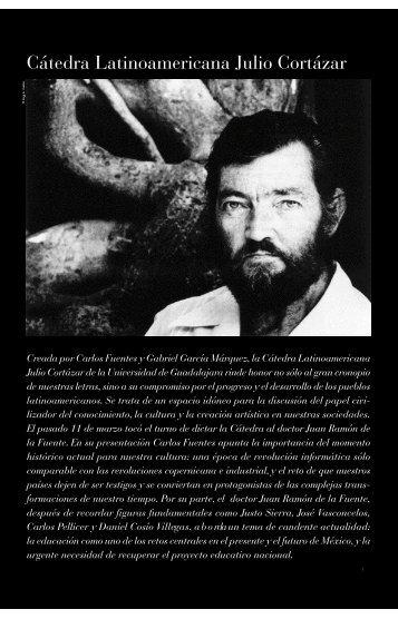 Cátedra Latinoamericana Julio Cortázar - Revista de la Universidad ...