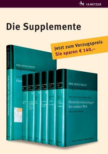 Die Supplemente
