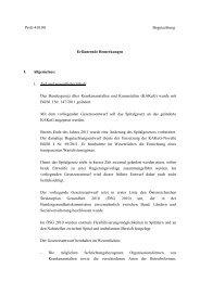 Erläuternde Bemerkungen - Das Land Vorarlberg im Internet