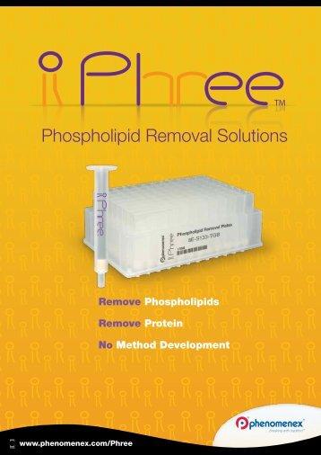 Phospholipid Removal Solutions - Phenomenex