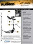 Recommended Vehicle Mounting Solution Ford ... - Gamber Johnson - Page 2