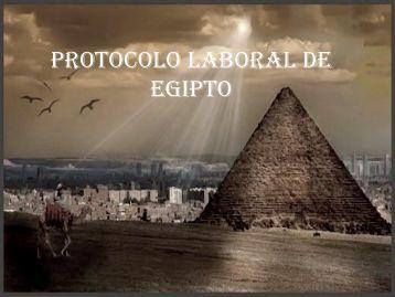 PROTOCOLO SOCIAL DE EGIPTO