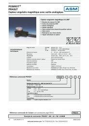 Information pdf PRAS27 - ASM GmbH