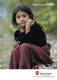 Descarcă Raportul anual 2004 - Salvati Copiii