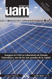 Inaugura la UAM su Laboratorio de Energía Fotovoltaica, uno de los ...