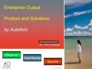 Enterprise Output Product and Solutions - HP