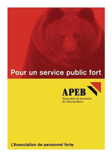 Brochure de l'APEB - BSPV