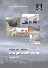 Corporate Plan Corporate Plan - Wicklow.ie