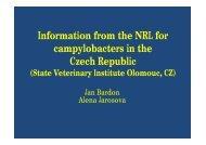Uppsala nfo z NRL pro kampylobaktery .ppt [režim kompatibility] - SVA