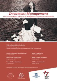 Document Management - Instituut voor Permanente Vorming
