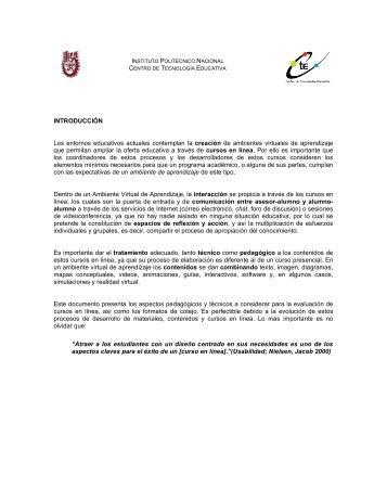 Pedagógicos - Centro de Investigación en Biotecnología Aplicada ...