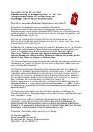 Tag des Flüchtlings: 20 - Plattform für Menschenrechte Salzburg