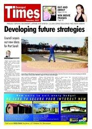 Devonport Times - November 2007 - 1st Part - Devonport City Council