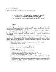 Uvođenje sustava upravljanja kvalitetom - Istarska županija