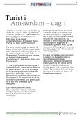 Amsterdam Reiseguide fra Reiseplaneten AS - www.reiseplaneten.no - Page 6