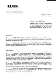 Nota Técnica nº 194/2013-SRE/ANEEL