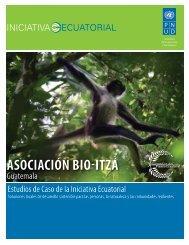ASOCIACIÓN BIO-ITZÁ - Equator Initiative