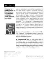 E d i t o r i a l - Publicaciones - Universidad Juárez Autónoma de ...