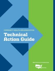 Community Health Implementation Technical Action Guide