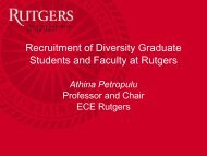 Recruitment of Diversity Graduate Students and Faculty at ... - ecedha