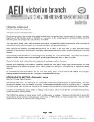 PCA Bulletin, March 2010