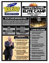 ELITE CAMP - University of Toledo Athletics