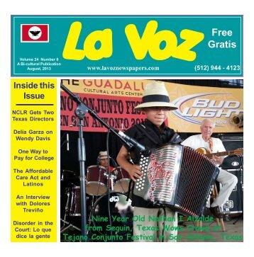 La Voz Guadalupe August 2013 final.pmd - La Voz Newspapers