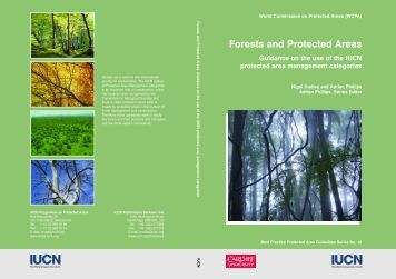 Forests and Protected Areas: Guidance on the use - IUCN