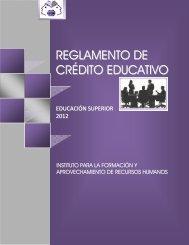 reglamento de crédito educativo - IFARHU