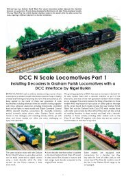 BRANCHLINE PRODUCTS BY ITEM NUMBER - Bachmann