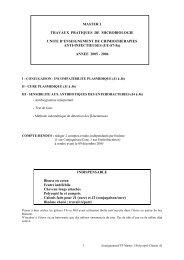 TP M1 semestre 7: UE S7-5a