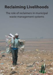 Reclaiming Livelihoods.indd - Inclusive Cities