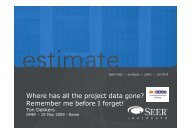 Where has all the project data gone? Remember me before I ... - DPO