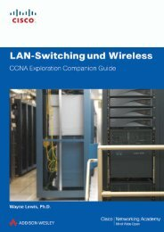 LAN-Switching und Wireless - Pearson Bookshop