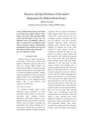 Practices and Open Problems of Document Digitization For Million ...