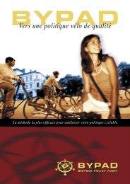 Vers une politique vélo de qualité - ByPAD